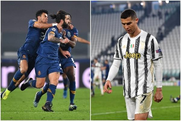 Porto eliminó a la Juventus, con Cristiano Ronaldo, por la UEFA Champions League