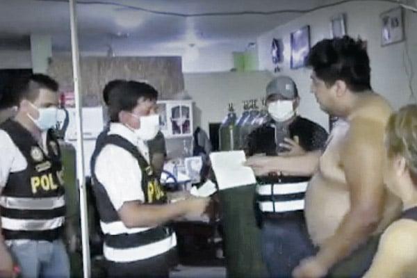 Trabajador de la Fiscalía traficaba con oxígeno