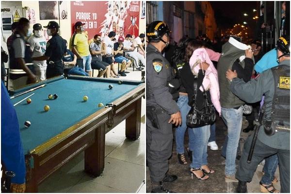 PNP intervino a más 7,000 personas durante el día de inmovilización social obligatoria