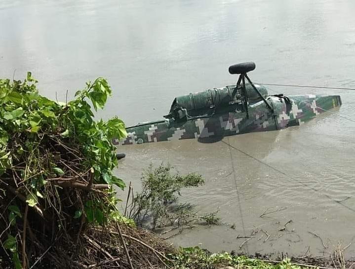 Cusco: cinco militares mueren  tras caída de helicóptero