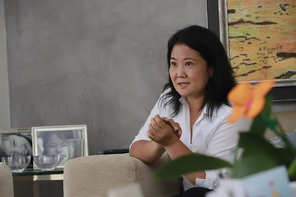 Keiko Fujimori: «Nos enfrentamos al comunismo»