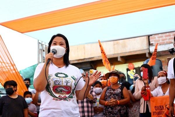 Poder Judicial autoriza excepcionalmente viajes de Keiko Fujimori al interior del país