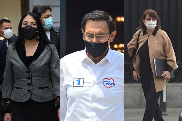 Vacunagate: Pleno del Congreso aprobó inhabilitar de la función pública a Martín Vizcarra, Pilar Mazzetti y Elizabeth Astete