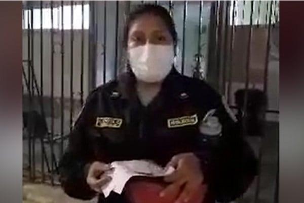 Suboficial denuncia maltrato en Sanidad Policial de Piura