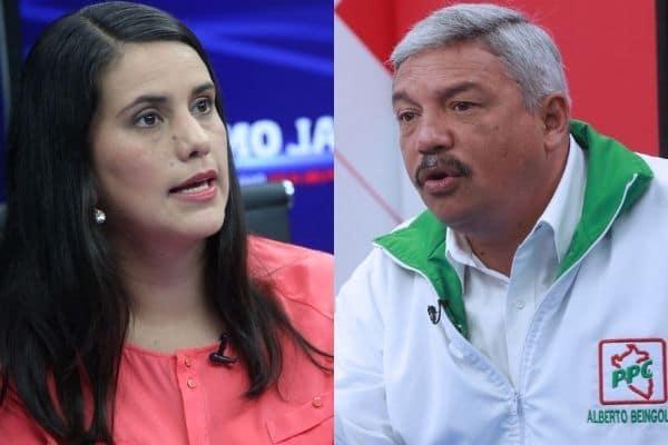 Alberto Beingolea sobre Verónika Mendoza: «Sabe que todavía hay fondos en el Estado, se los van a gastar»
