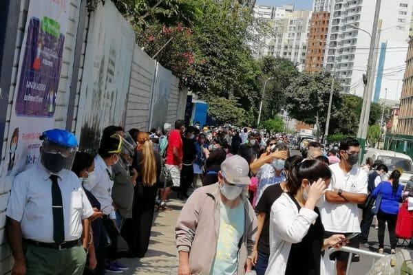 Elecciones 2021: Se registran largas colas y mesas sin instalar