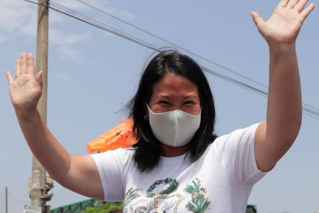 Keiko Fujimori sobre debate en Chota: «El señor Guerra García ha estado en la mañana y no le han querido entregar los temarios»