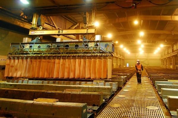 Precio del cobre llega a máximo histórico