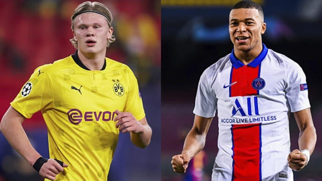 ¡Equipazo! Real Madrid podría fichar a Erling Haaland y Kylian Mbappé