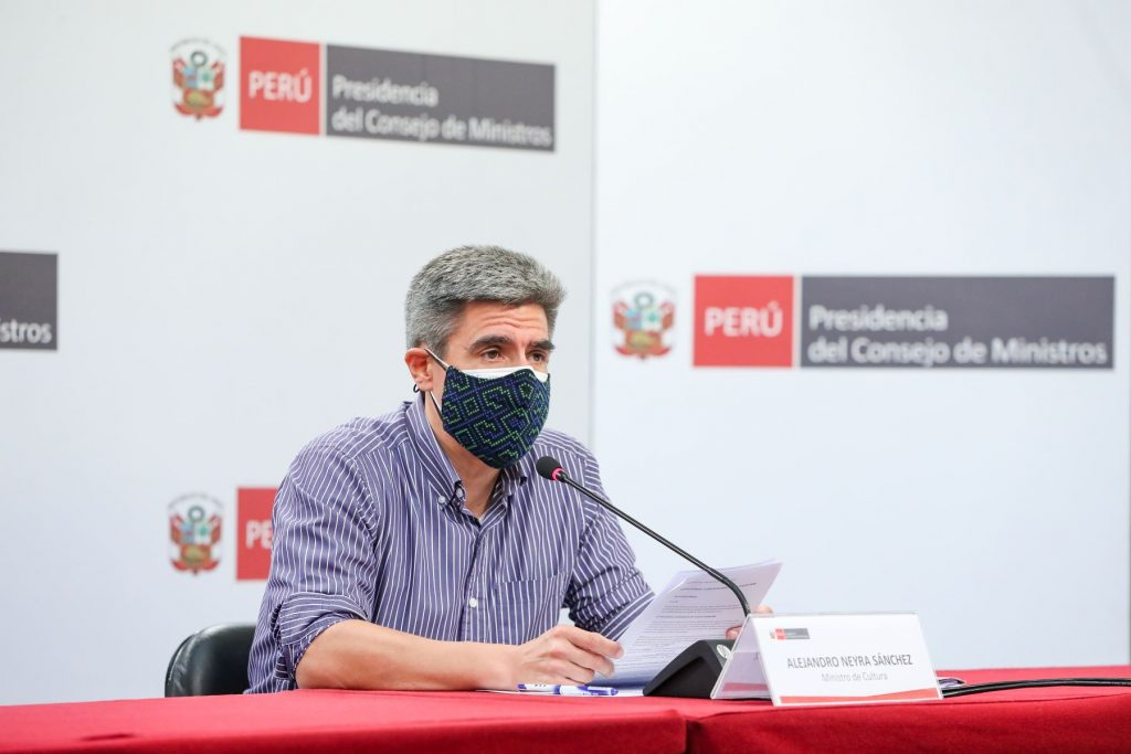 Ministro Alejandro Neyra: «El Gobierno ha destinado S/ 405 millones para reactivar negocios afectados por la pandemia»