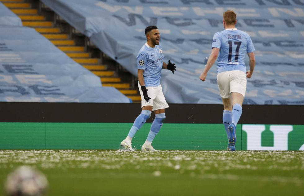 Manchester City derrota 2-0 a PSG por la vuelta de las semifinales de la Champions League