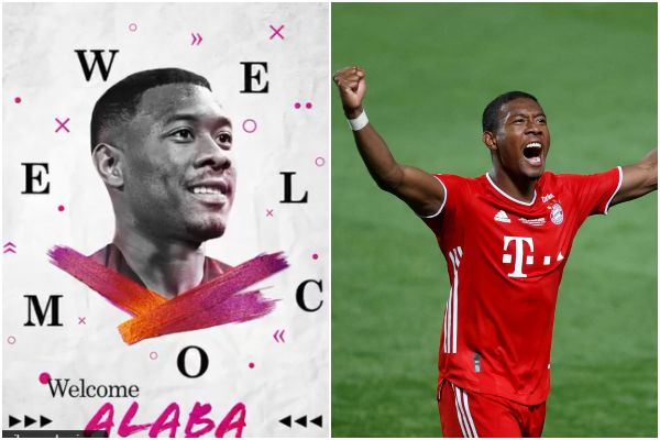 ¡El primer refuerzo! Real Madrid anunció el fichaje de David Alaba