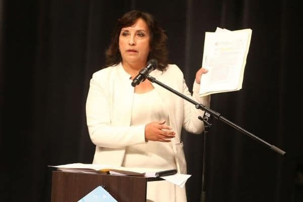 Dina Boluarte aseguró que Fuerza Popular tiene «pruebas inexistentes» de fraude