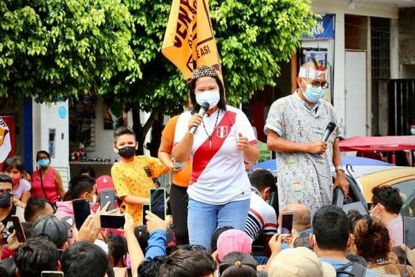 Keiko Fujimori: «Rechazo la posibilidad de que se vaque o censure al presidente Sagasti»