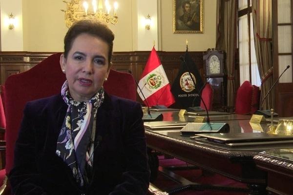 Elvia Barrios: «Sendero Luminoso mataba jueces»