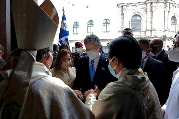 Ecuador: vea aquí la ceremonia de cambio de mando presidencial