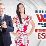 Augusto Thorndike y Marisel Linares en 'Willax Noticias' desde este lunes 10 de mayo