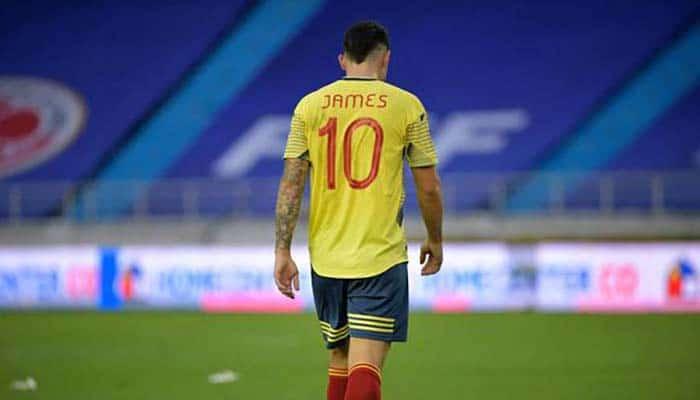 James Rodríguez fue desconvocado de la Selección Colombiana y no disputará el encuentro ante Perú por las Eliminatorias Qatar 2022
