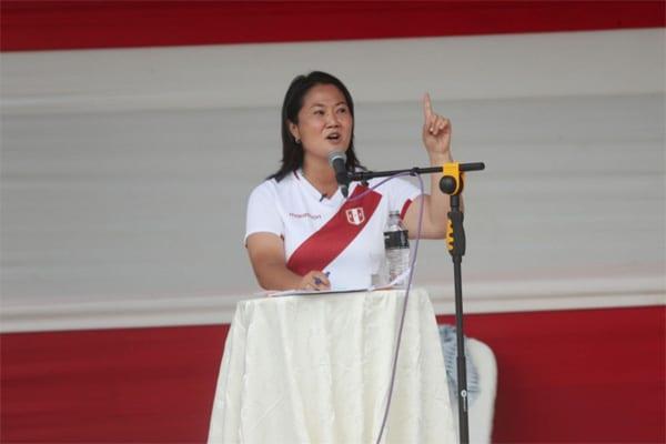 Keiko Fujimori sobre problemas en las regiones: «Eso se debe a la incapacidad de los Gobiernos Regionales»