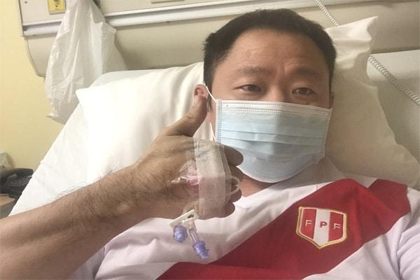 Kenji Fujimori: «Voy ganándole la batalla al COVID»