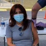 Magaly Medina vacunada contra el coronavirus