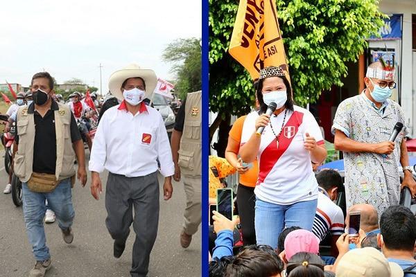 """Keiko Fujimori a Pedro Castillo: """"Nuestro país no funciona en el caos ni en el desorden, las reglas se tienen que respetar"""""""