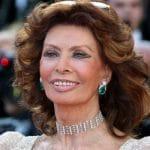 Sophia Loren ovacionada a sus 86 años