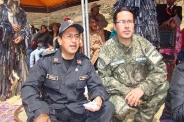 Mininter investiga a Cerrón por uniforme