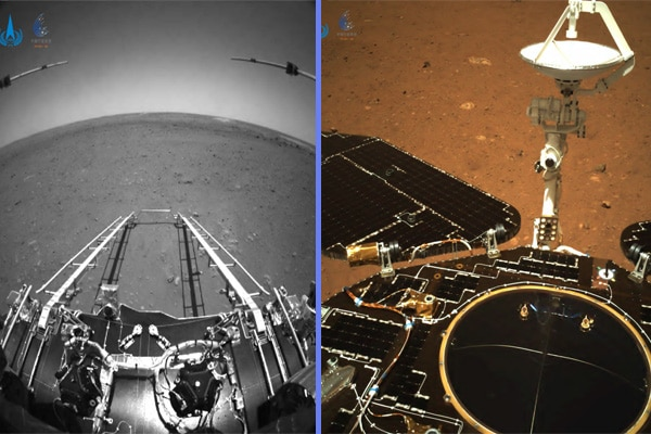 Zhurong: el robot ya explora el planeta rojo
