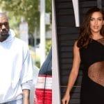 Irina Shayk conquista a Kanye West, ex de Kim Kardashian