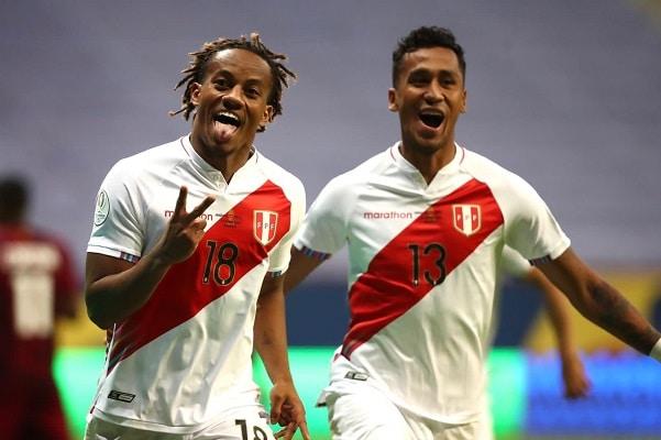 Perú vence 1-0 a Venezuela y escala a los cuartos de final de la Copa América