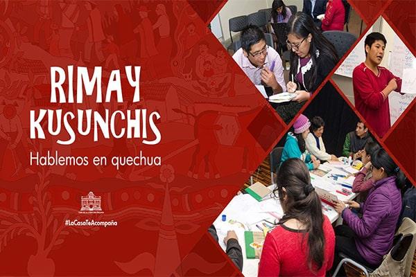 Conversatorio en quechua de «Revista cultura»