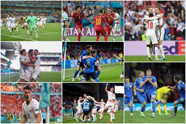 Eurocopa 2020: así quedaron los cruces de cuartos de final
