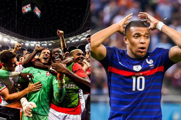 Francia quedó eliminado de la Eurocopa tras caer por penales ante Suiza (5-4)