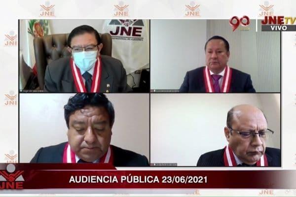 JNE: Sigue EN VIVO la revisión de pedidos de nulidad de actas presentados por Fuerza Popular