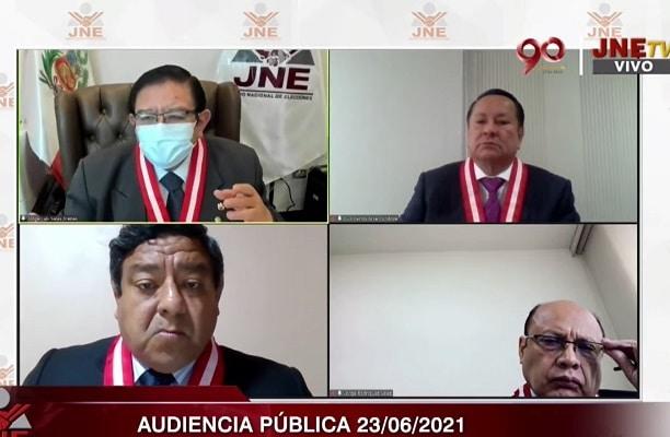 Mayoría del JNE ya tendría decidido proclamar a Pedro Castillo