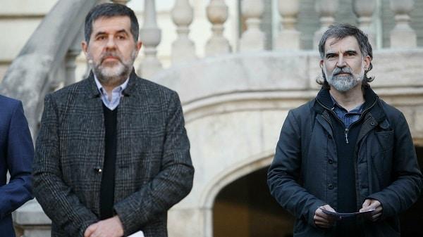 España: Tribunal Constitucional avala la condena por sedición de Jordi Sánchez y Jordi Cuixart