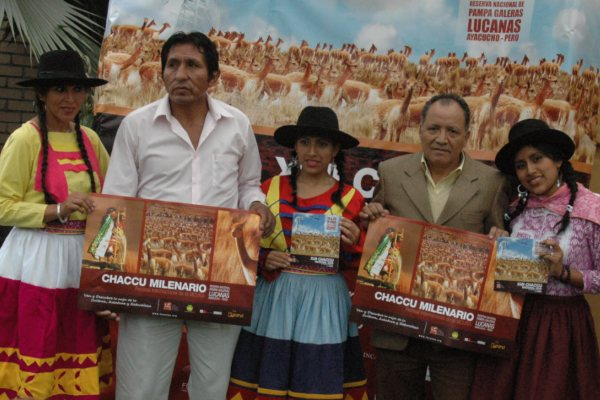 José Sarmiento 'Machoca': «Esquilar su fibra es la forma más humana de respetar a la vicuña»