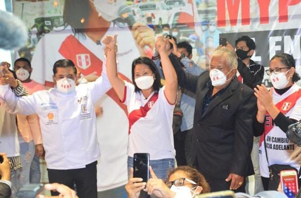 EN VIVO | Keiko Fujimori cierra su campaña electoral en Villa El Salvador, tras prohibición de hacerlo en la plaza San Martín