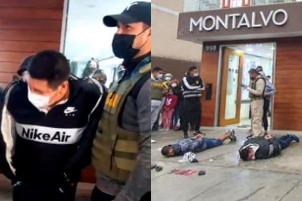 Los Olivos: Policía Nacional capturó a delincuentes que intentaron asaltar a peluquería