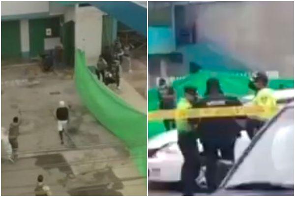 Los Olivos: PNP frustró asalto en grifo y capturó a 3 delincuentes venezolanos