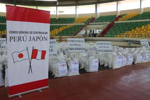 Madre de Dios: Fondo contravalor Perú-Japón entregó 1,332 kits de alimentos para familias damnificadas por inundaciones