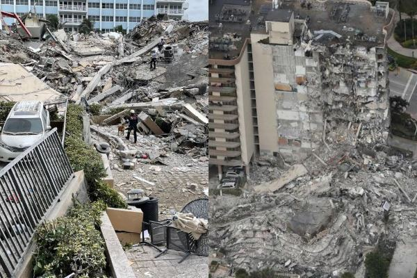Paraguayos, argentinos y chilenos entre los desaparecidos por derrumbe de edificio en Miami