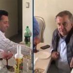 Observadores libaban licor con miembro del JNE