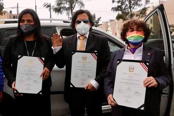 Partido Morado busca fusionarse con la bancada de Somos Perú