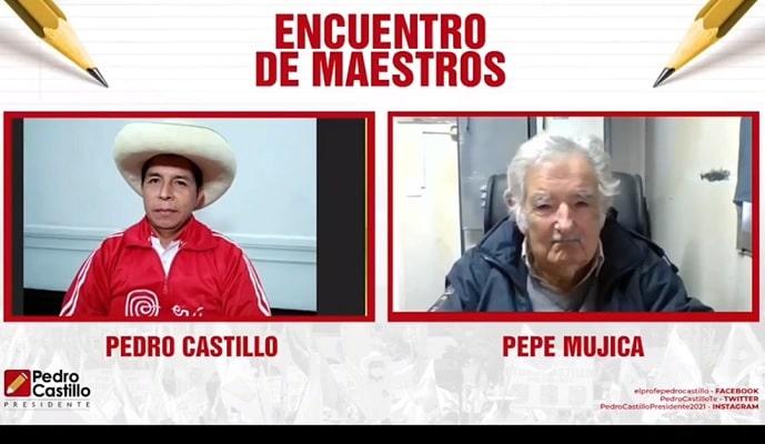 Expresidente uruguayo José 'Pepe' Mujica a Pedro Castillo: «Juégale limpio a tu pueblo, no lo engañes»
