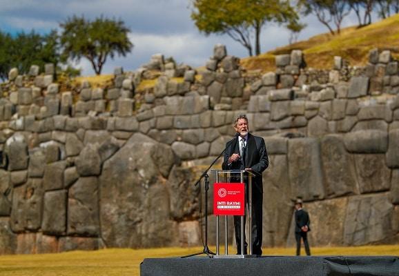 Presidente Sagasti en ceremonia del Inti Raymi: «Hemos hecho todo para dejar un país mejor al que encontramos»