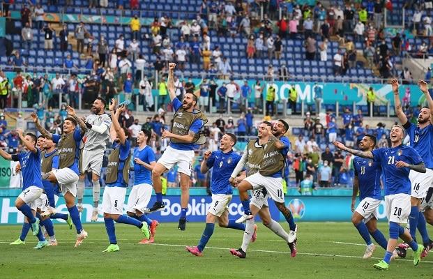 Italia iguala su récord de 30 partidos sin derrota tras choque con Gales en la Eurocopa