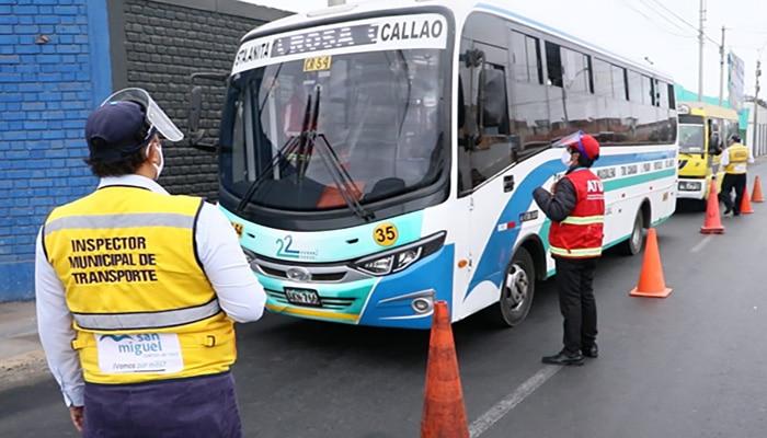 Empresas de transporte de Lima y Callao podrán tramitar virtual y gratuitamente la TUCE en emergencia sanitaria