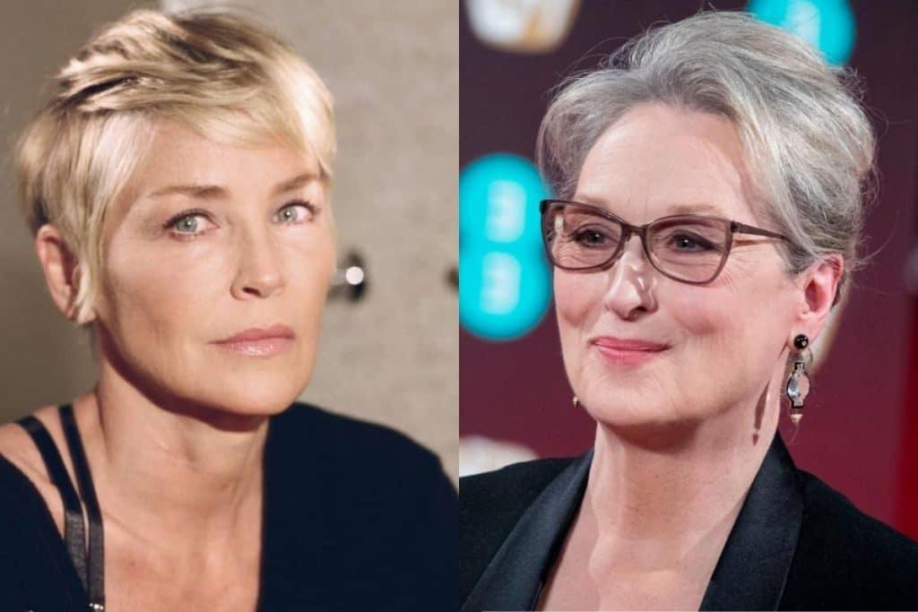 Sharon Stone asegura que Hollywood idealiza a Meryl Streep: «Yo hago mucho mejor de villana»